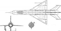 mig e 150 5 model airplane plan