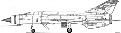 mig e 152 3 model airplane plan