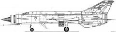mig e 152 3 model airplane plan