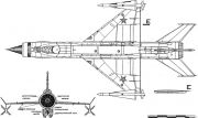 mig e 152 4 model airplane plan