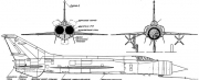 mig e 152 8 model airplane plan
