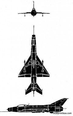 mig fishbed model airplane plan