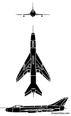 mig fitter model airplane plan