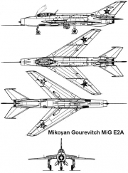 mige2a 3v model airplane plan