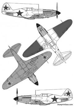 mikoyan  gurevitch mig 3 model airplane plan
