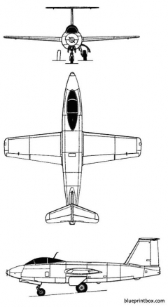 mikoyan gurevich l 270 model airplane plan