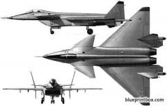 mikoyan gurevich mig 144 model airplane plan