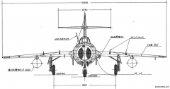 mikoyan gurevich mig 15bys model airplane plan