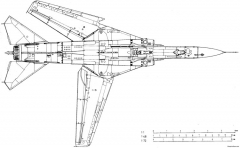 mikoyan gurevich mig 23mf 2 model airplane plan
