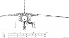 mikoyan gurevich mig 23mf 3 model airplane plan