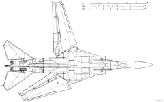 mikoyan gurevich mig 23mf 6 model airplane plan
