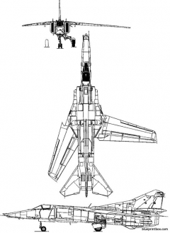 mikoyan gurevich mig 27 1970 russia model airplane plan