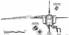 mikoyan gurevich mig 27 3 model airplane plan