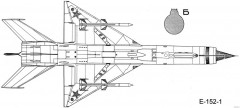 mikoyan gurevich ye 152 3 model airplane plan