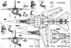 mikoyan mig 23mf 3 model airplane plan
