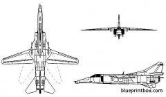 mikoyan mig 27 flogger model airplane plan