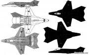 mikoyan mig 37b ferret e model airplane plan