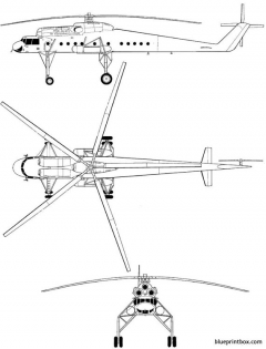 mil mi 10 harke model airplane plan