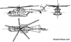 mil mi 14 haze model airplane plan