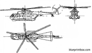 mil mi 14 haze 2 model airplane plan