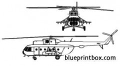 mil mi 17 hip h model airplane plan
