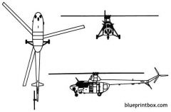 mil mi 1 hare model airplane plan
