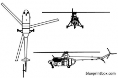 mil mi 1hare model airplane plan
