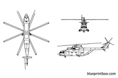 mil mi 26 halo 02 model airplane plan