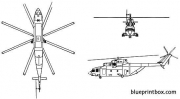 mil mi 26 halo 2 model airplane plan