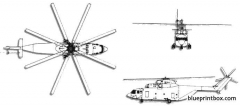 mil mi 26 halo 3 model airplane plan