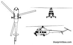mil mi 2 hoplite model airplane plan