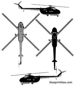mil mi 4a hound model airplane plan