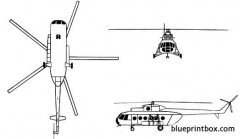 mil mi 8 hip 02 model airplane plan