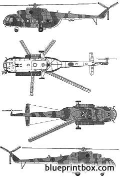 mil mi 8mt hip model airplane plan