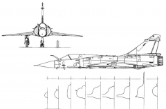 mirage2000c 3v 1 model airplane plan
