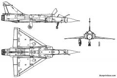 mirage 2000 2 model airplane plan