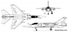 mirage f1 model airplane plan