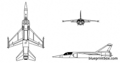 mirage f 1 model airplane plan