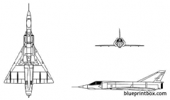 mirage iii 5 model airplane plan