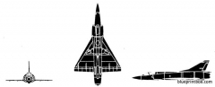 mirage iiic model airplane plan