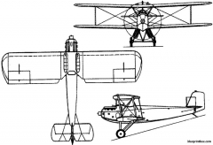 mitsubishi 1mf9 taka 1927 japan model airplane plan