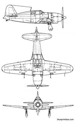 mitsubishi j2m raiden jack model airplane plan