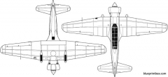 mitsubishi ki 15 kamikazebabs 2 model airplane plan