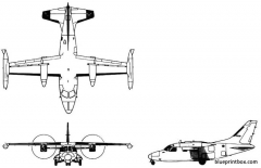 mitsubishi solitaire model airplane plan