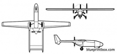 model 410 model airplane plan