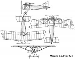 morane a1 3v model airplane plan