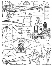 morane saulnier g model airplane plan