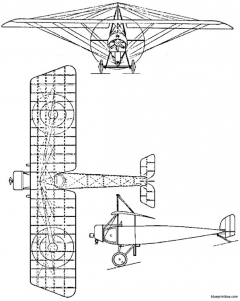 morane saulnier l model airplane plan