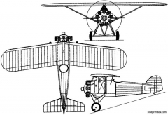 morane saulnier ms221  223 1928 france model airplane plan