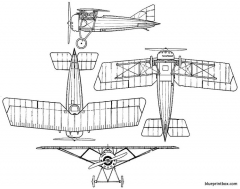 morane saulniera 1 model airplane plan